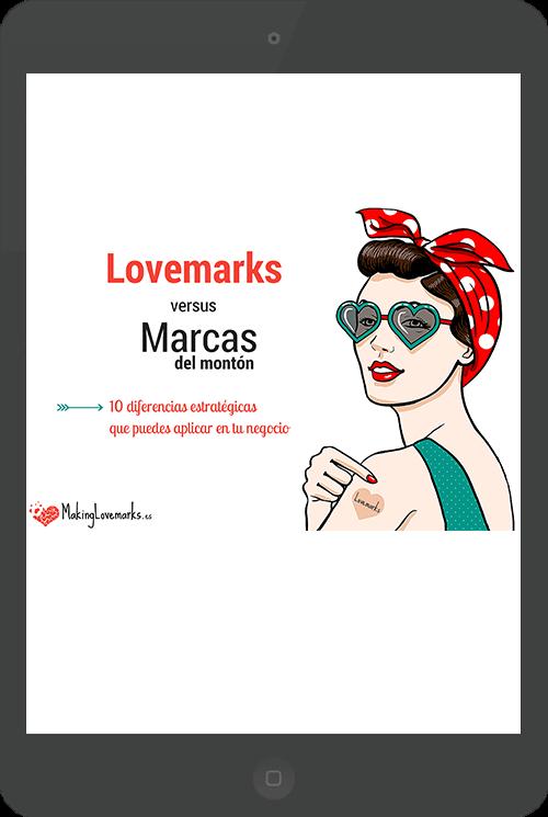 Guía Lovemarks vs marcas del montón