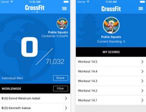 CrossFit Games App