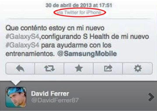 Influencer David Ferrer