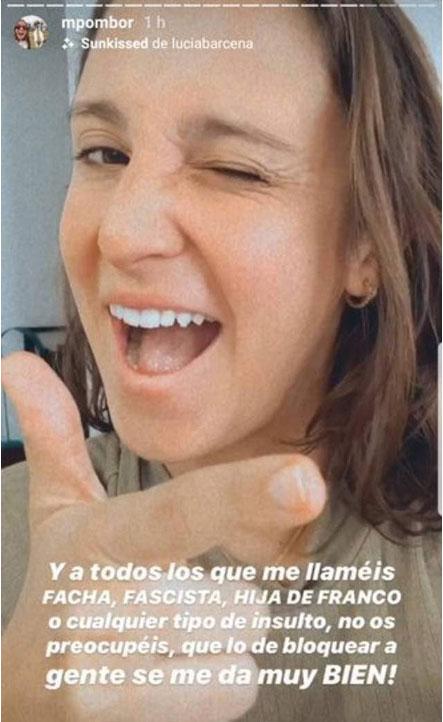 Influencer Marta Pombo